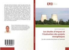 Buchcover von Les études d'impact et l'évaluation des projets énergétiques