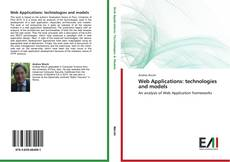Bookcover of Web Applications: technologies and models