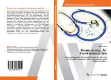 Couverture de Finanzierung der Krankenanstalten