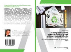 Buchcover von Energieeffiziente Betriebsführung von Blockheizkraftwerken
