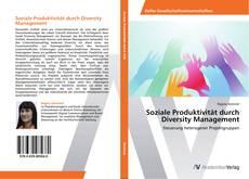 Buchcover von Soziale Produktivität durch Diversity Management