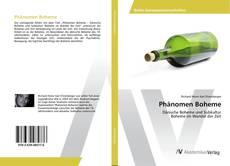 Buchcover von Phänomen Boheme