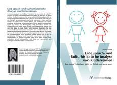 Bookcover of Eine sprach- und kulturhistorische Analyse von Kinderreimen