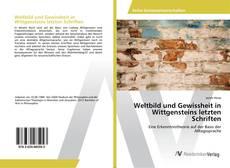Bookcover of Weltbild und Gewissheit in Wittgensteins letzten Schriften