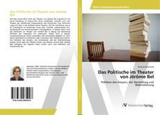 Bookcover of Das Politische im Theater von Jérôme Bel