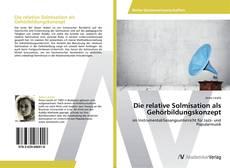 Обложка Die relative Solmisation als Gehörbildungskonzept