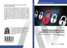 Copertina di Sicherheitsaspekte eines verteilten Online-Speichers