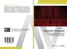 Portada del libro de Handwerk: Schauspiel