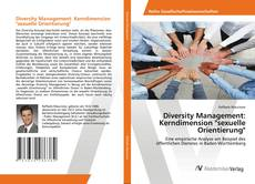 "Bookcover of Diversity Management: Kerndimension ""sexuelle Orientierung"""