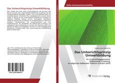 Buchcover von Das Unterrichtsprinzip Umweltbildung