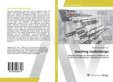 Bookcover of teaching (web)design