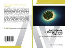 """Couverture de Das Inselmotiv   in Christian Krachts """"Imperium"""""""