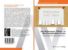 "Capa do livro de Das Phänomen ""Offset"" in der Europäischen Union"