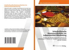 Buchcover von Interkulturelle Kommunikation im Lebensmittel-Marketing