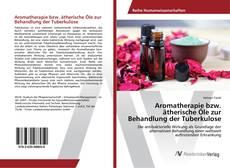 Обложка Aromatherapie bzw. ätherische Öle zur Behandlung der Tuberkulose