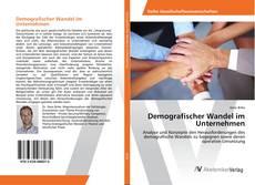 Demografischer Wandel im Unternehmen的封面
