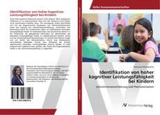Обложка Identifikation von hoher kognitiver Leistungsfähigkeit bei Kindern