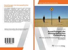 Portada del libro de Auswirkungen der demographischen Entwicklung