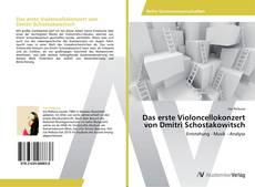 Portada del libro de Das erste Violoncellokonzert von Dmitri Schostakowitsch