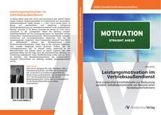 Portada del libro de Leistungsmotivation im Vertriebsaußendienst