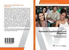 Обложка Nationale Zugehörigkeit und Migration