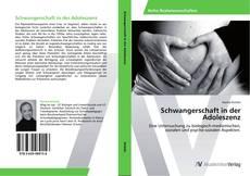 Обложка Schwangerschaft in der Adoleszenz