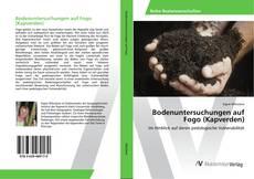 Capa do livro de Bodenuntersuchungen auf Fogo (Kapverden)