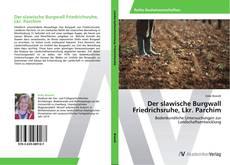 Обложка Der slawische Burgwall Friedrichsruhe, Lkr. Parchim