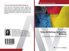 Bookcover of Tanz als Beitrag kultureller Bildung