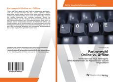 Buchcover von Partnerwahl Online vs. Offline