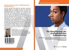 Capa do livro de Die Novellierung der strafbefreienden Selbstanzeige