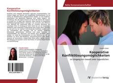 Buchcover von Kooperative Konfliktlösungsmöglichkeiten