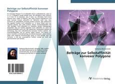 Buchcover von Beiträge zur Selbstaffinität konvexer Polygone