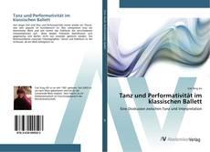 Capa do livro de Tanz und Performativität im klassischen Ballett