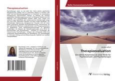 Portada del libro de Therapieevaluation