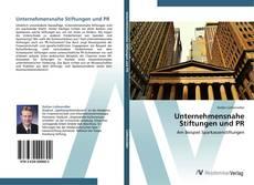 Buchcover von Unternehmensnahe Stiftungen und PR