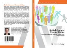 Portada del libro de Bedürfnisse von Ehrenamtlichen