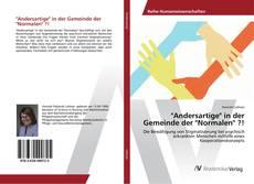 """Buchcover von """"Andersartige"""" in der Gemeinde der """"Normalen"""" ?!"""