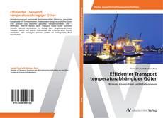 Effizienter Transport temperaturabhängiger Güter kitap kapağı