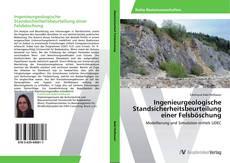 Capa do livro de Ingenieurgeologische Standsicherheitsbeurteilung einer Felsböschung