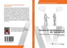 Buchcover von Sprache als Handwerkszeug der Sozialarbeit