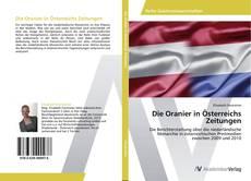 Bookcover of Die Oranier in Österreichs Zeitungen