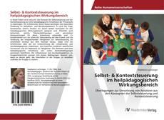 Buchcover von Selbst- & Kontextsteuerung im heilpädagogischen Wirkungsbereich