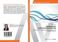 Portada del libro de Multivariate Lieferantenbewertung