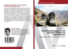 Bookcover of Erlebnispädagogik in der Sozialen Arbeit mit Jugendlichen