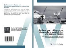 Обложка Parkoursport - Chance zur Überwindung persönlicher und sozialer Hürden