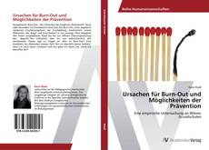 Обложка Ursachen für Burn-Out und Möglichkeiten der Prävention