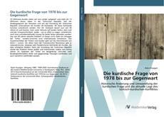 Buchcover von Die kurdische Frage von 1978 bis zur Gegenwart