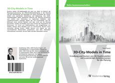 Capa do livro de 3D-City-Models in Time