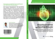 Bookcover of Herzratenvariabilität  bei Empfängern von Rotations-Blutpumpen